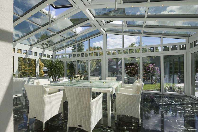 Glasversiegelung Wintergarten